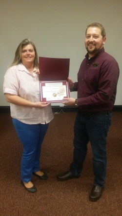 Recent Certified Safety and Health Specialist Certificate Graduate