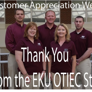 Customer Appreciation Week - October 15-19, 2012